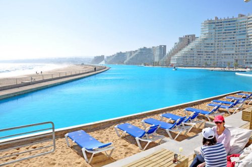 The Largest Swimming Pool In The World Think You Know Where It Is Travelwithscott
